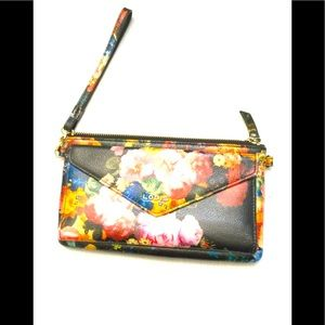 Lodis Wristlet Wallet with side card holder
